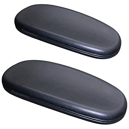 replacement office chair armrest arm pads set of 2 s2724 1 saturnbelt
