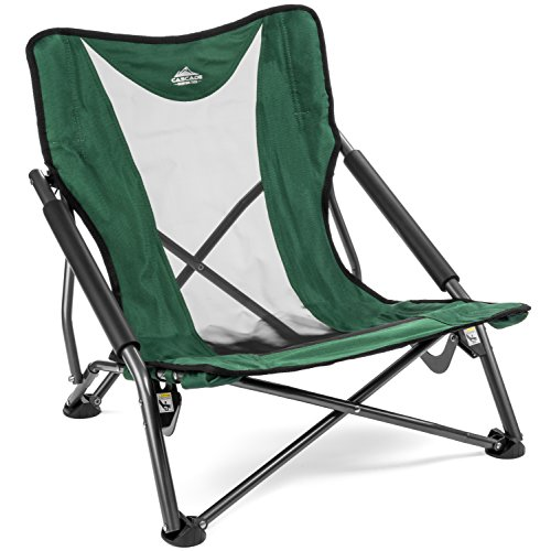 This Low Profile Chair Can Go Anywhere, Is Lightweight, Conveniently Folds  And Can Hold Up To 250lbs. Convenient: Handy Storage Bag With Shoulder  Straps ...