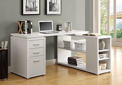 Strange White High Back Leather Executive Office Desk Task Computer Download Free Architecture Designs Grimeyleaguecom