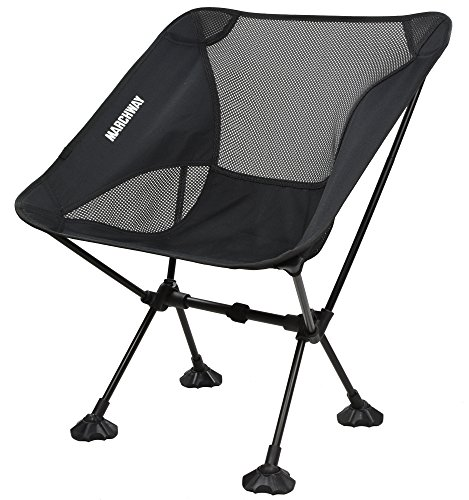 Marchway Ultralight Folding Camping Chair With Large Feet